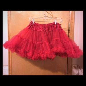 Other - Short red tutu